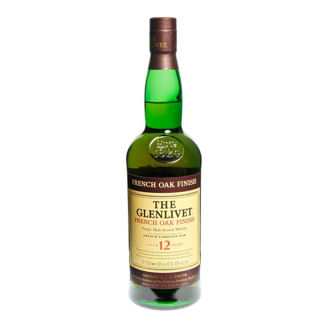 Glenlivet 12yo French Oak Finish: 40,0%vol 70cl