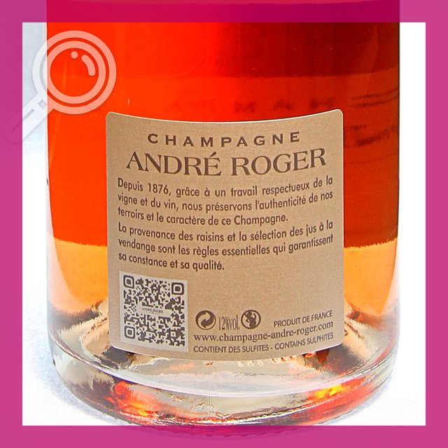 André Roger Rosé: Brut Grand Cru 12,0%vol 75cl