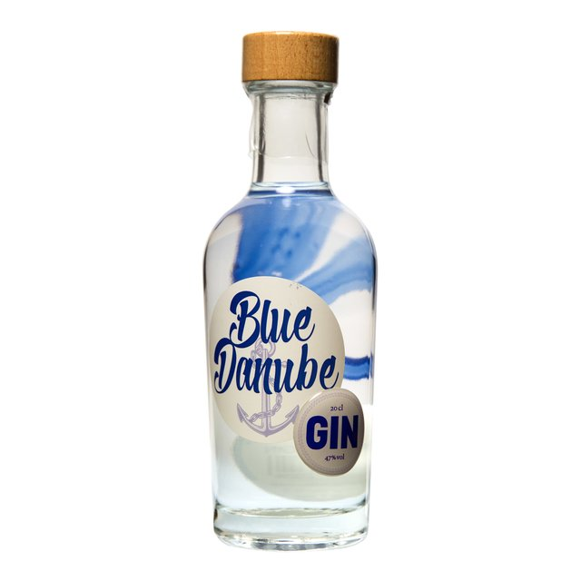 Blue Danube Gin 20cl: Vienna Craft Distillery 47,0%vol