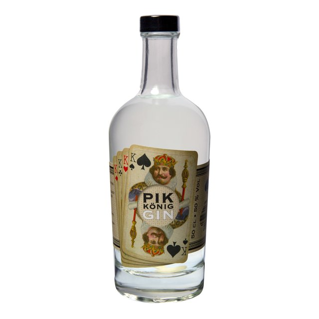 Pik König Gin: 50,0%vol 50cl Vienna Craft Distillery
