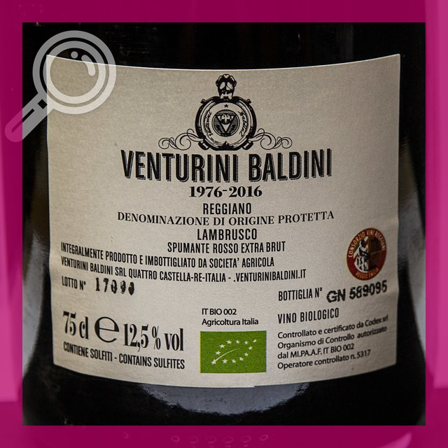 Venturini Baldini Quaranta: 12,5%vol 75cl