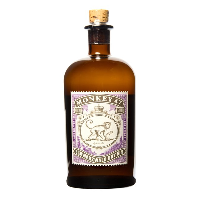 Monkey 47 Dry Gin: 47,0%vol 50cl