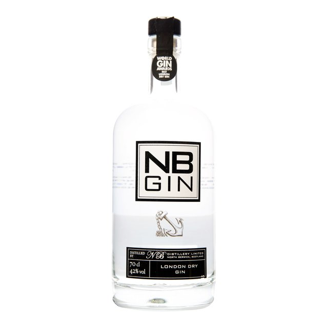 NB Gin: 100% British Grain Spirit + 8 Botanicals 42,0%vol 70cl