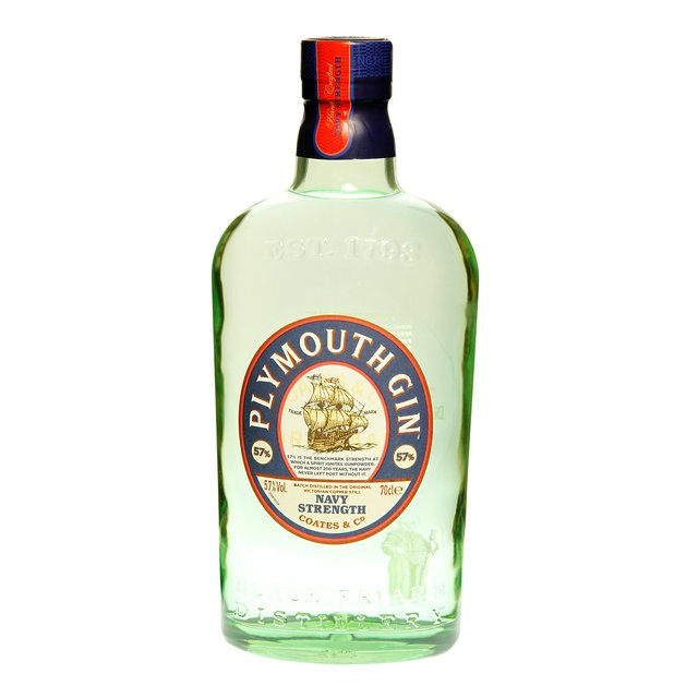 Plymouth Navy Strength: Distilled Gin 57,0%vol 70cl