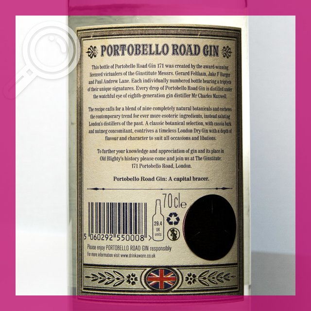 Portobello Road No. 171: London Dry Gin 42,0%vol 70cl