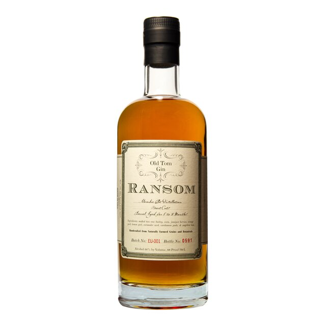 Ransom Old Tom: Gin fassgelagert 44,0%vol 70cl