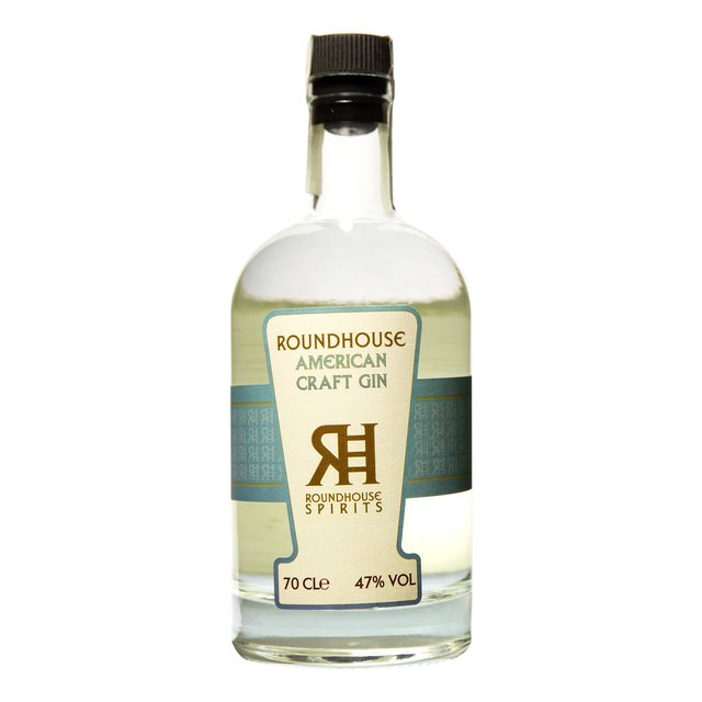 Roundhouse American Craft Gin: 47,0%vol 70cl