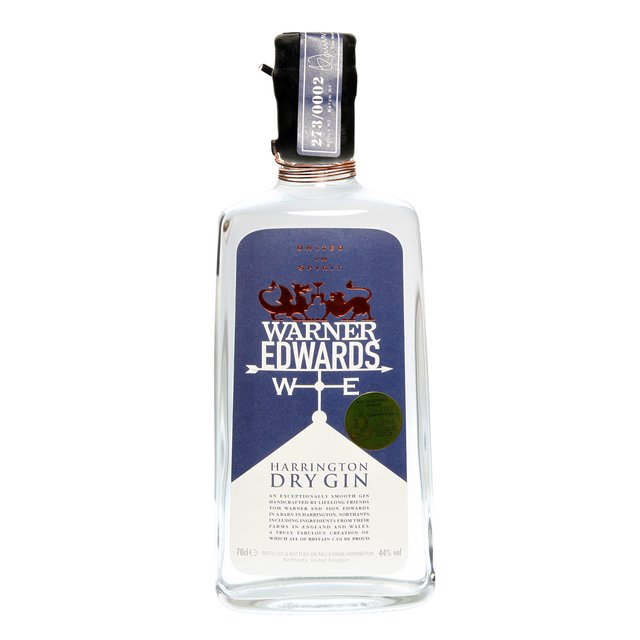 Warner Edwards Harrington: Dry Gin 44,0%vol 70cl