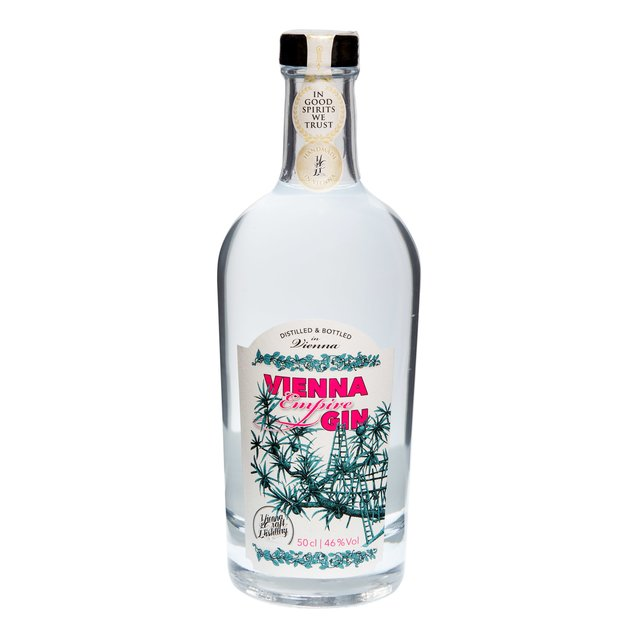 Vienna Empire Gin: 46,0%vol 50cl Vienna Craft Distillery