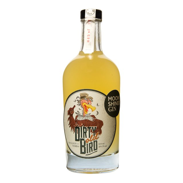 Dirty Old Bird Gin: 46,2%vol 50cl