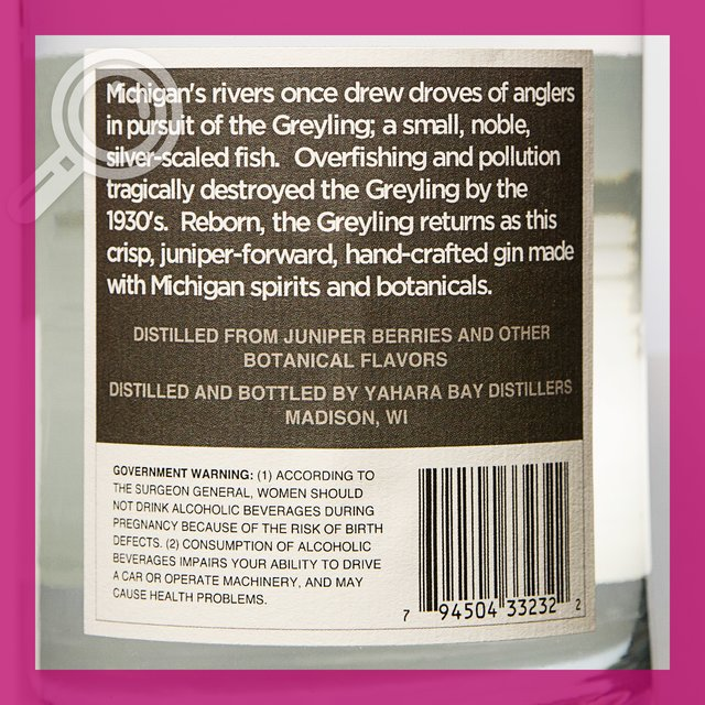 Greyling Modern Dry Gin: 41,0%vol 75cl