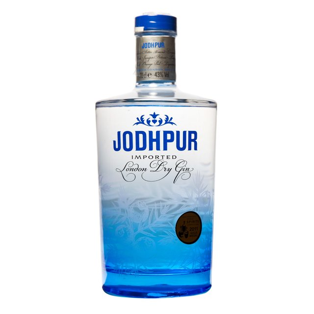 Jodhpur London Dry Gin: 43,0%vol 70cl