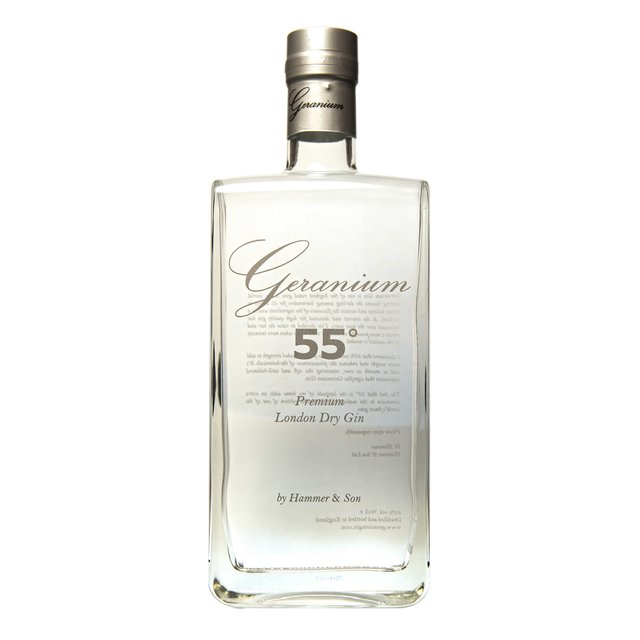 Geranium Premium London Dry Gin: 55,0%vol 70cl