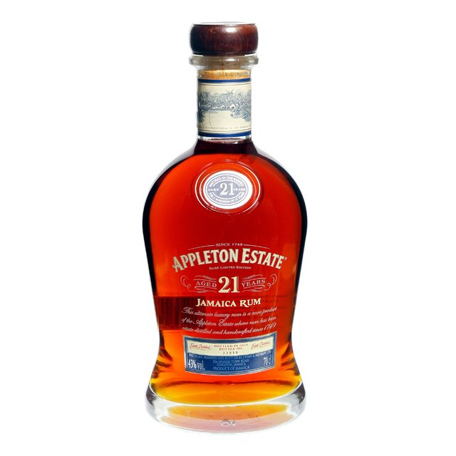 Appleton Estate 21yo: Jamaica Rum 43,0%vol 70cl