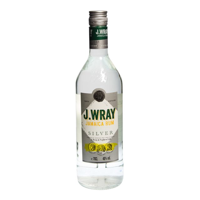 J. Wray Silver: Jamaica Rum: 40,0%vol 70cl