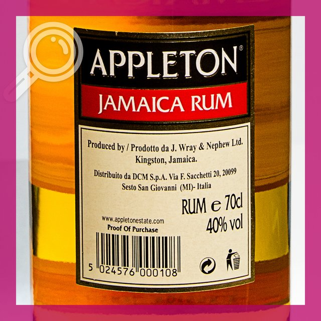 Appleton Rum Special: 40,0%vol 70cl
