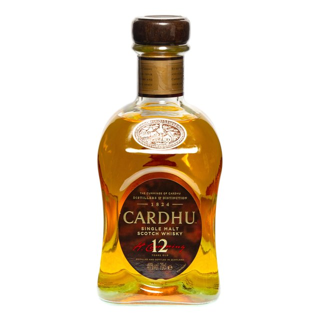 Cardhu 12yo: 40,0%vol 70cl
