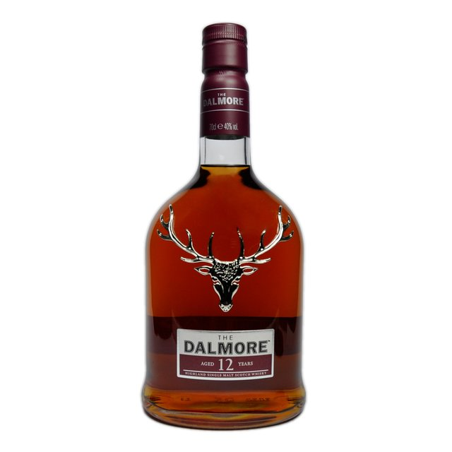 Dalmore 12yo: 40,0%vol 70cl